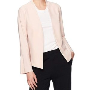 NWT Adrianna Papell Blush Blazer with Bell Sleeve